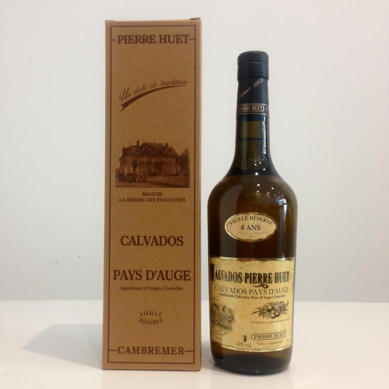 Calvados Pierre Huet, Vieille réserve 8 ans, 40% vol