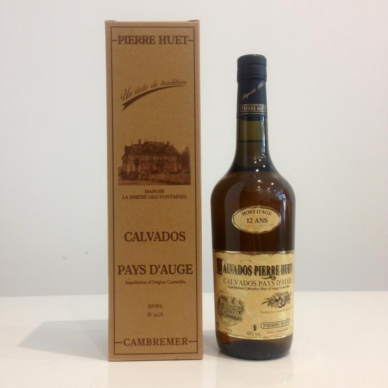Calvados Pierre Huet, Hors-d'Age 12 ans, 40% vol