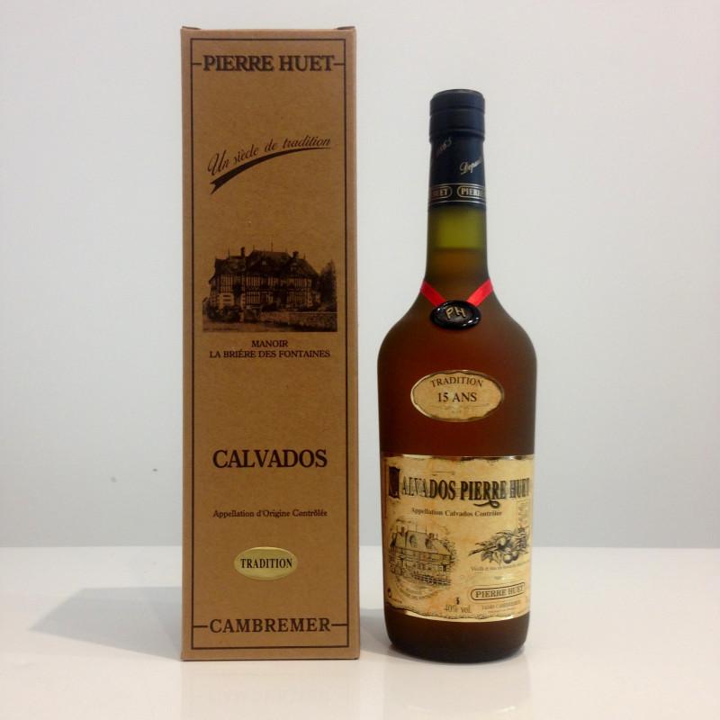 Calvados Pierre Huet, Tradition 15 ans, 40% vol