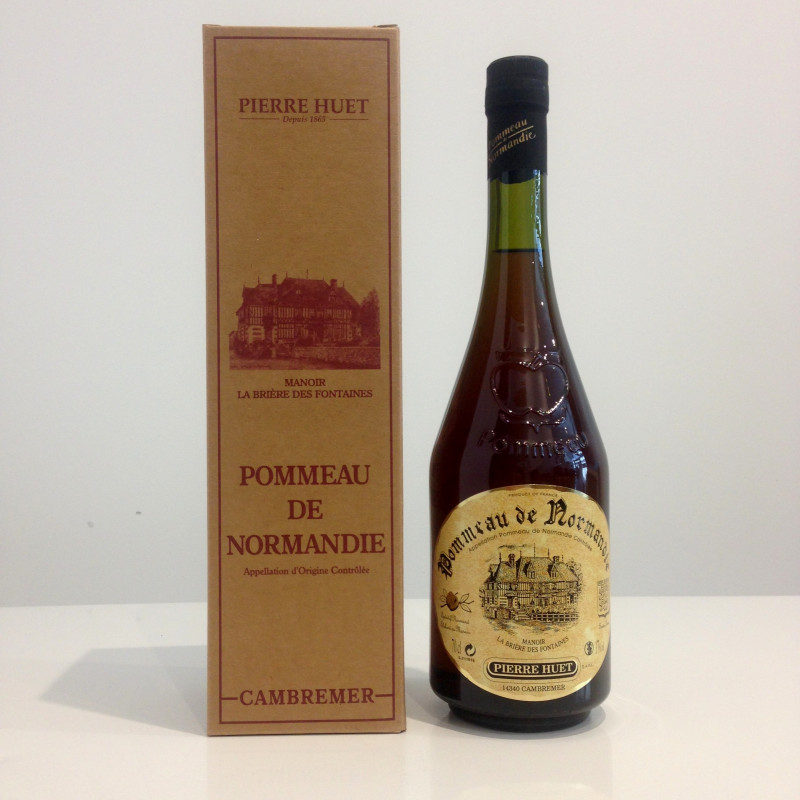 Pommeau de Normandie AOC Pierre Huet, 3 ans, 17% vol