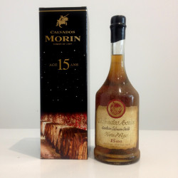 Calvados  MORIN AOC, HORS-D'AGE 15 Ans, 42% vol