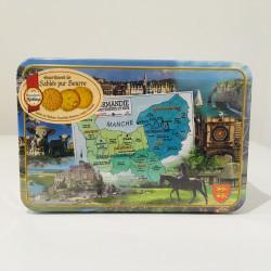 Assortiment de sablés pur beurre - Boîte Normandie