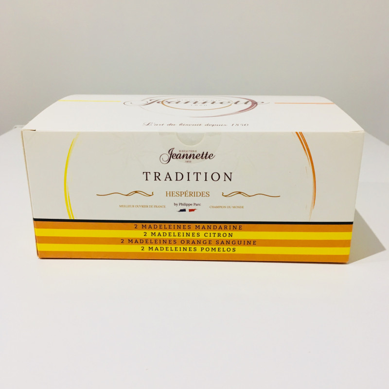 Madeleines Jeannette - AGRUMES