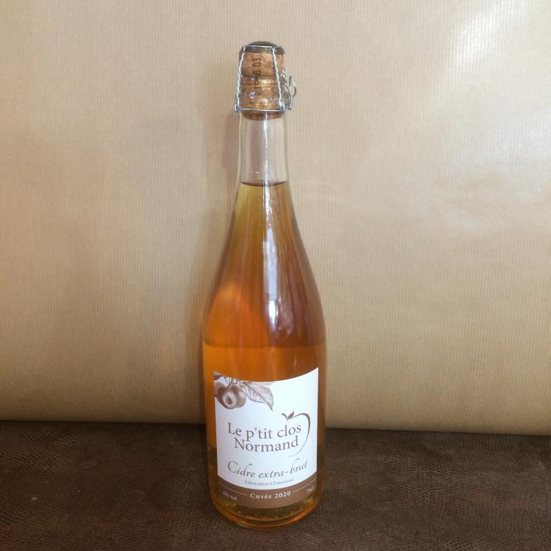 Cidre extra-brut-75cl-le p'tit clos normand