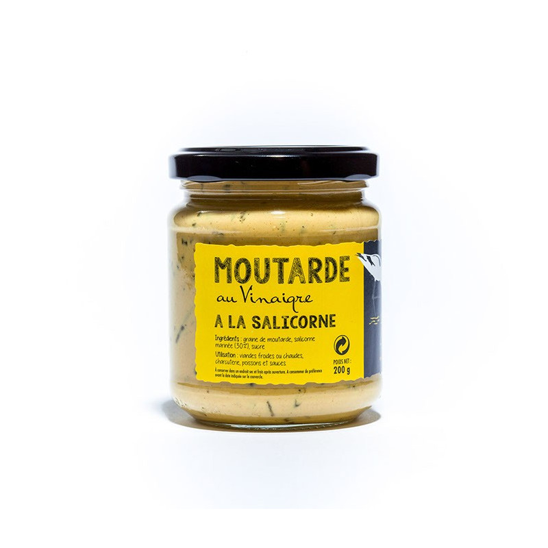 Moutarde au vinaigre à la salicorne